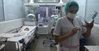 Архивное фото детской больницы