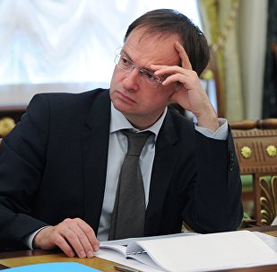 РФ мәдениет министрі Владимир Мединский