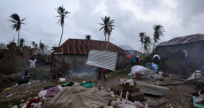 Последствия урагана Мэтью