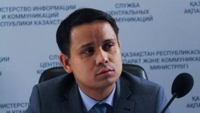 Директор департамента цифровизации здравоохранения Минздрава Бейбут Есенбаев