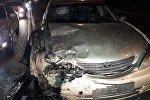 BMW протаранил Camry в Алматы