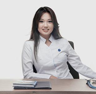 Врач-педиатр, дерматовенеролог Акмарал Джамбулова