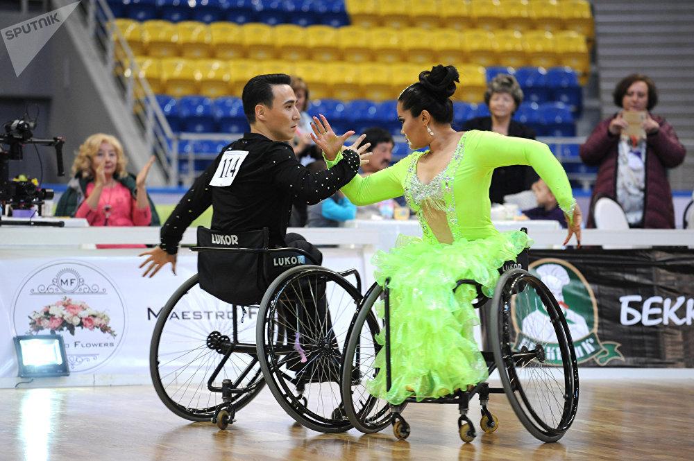 Чемпионат Казахстана по паратанцам