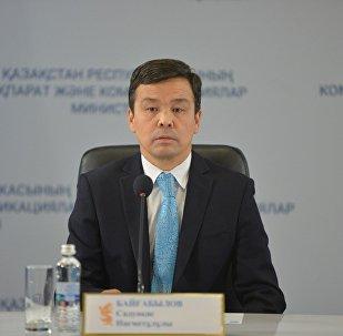 Руководитель столичного департамента охраны общественного здоровья Садвакас Байгабулов