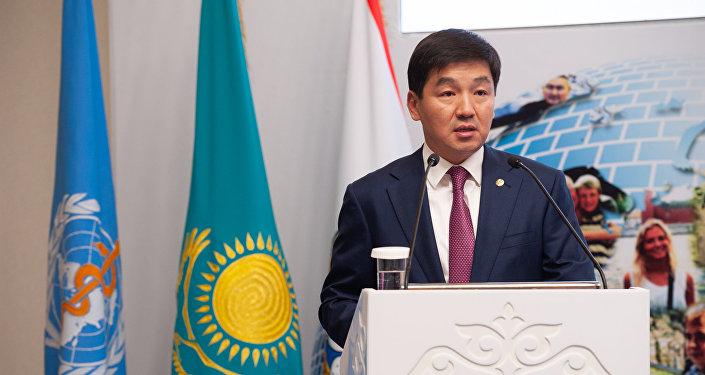 Аким Алматы Бауыржан Байбек