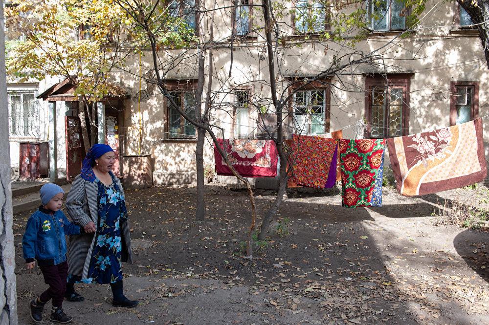 Старые дворы Алматы