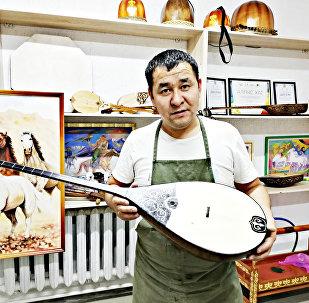 Астаналық шебер Нұржан Ділмәнов