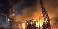 Церковь загорелась после удара молнии в Массачусетсе
