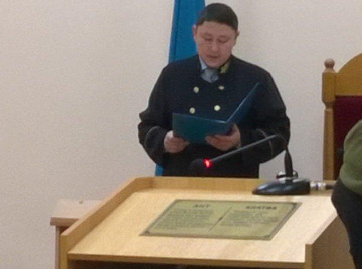 Школьный учитель из Западно-Казахстанской области приговорен к ограничению свободы сроком на четыре года