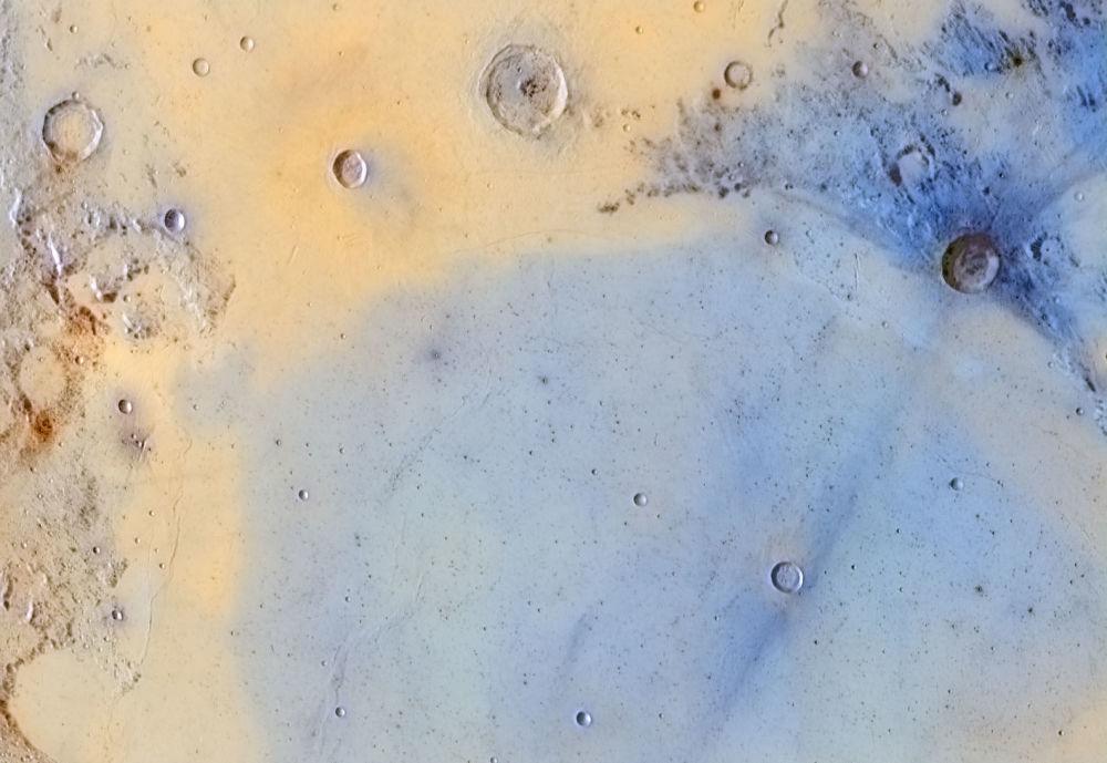 Снимок Inverted colors of the boundary between Mare Serenitatis and Mare Tranquilitatis фотографа Jordi Delpeix Borrell, победивший в номинации Our Moon конкурса Insight Investment Astronomy Photography of the Year 2018
