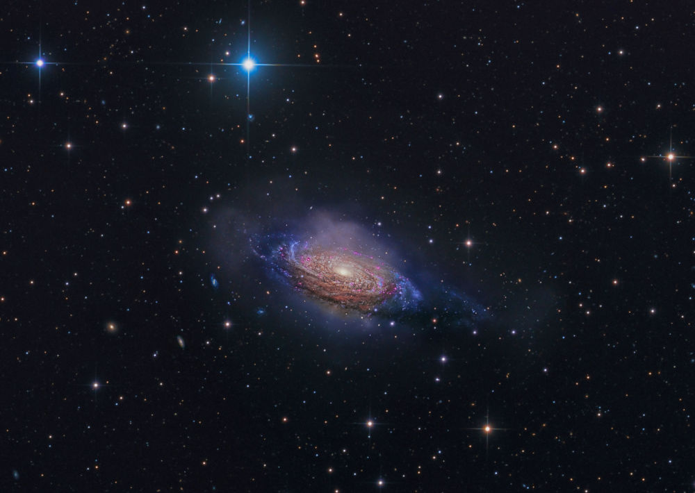 Снимок NGC 3521, Mysterious Galaxy фотографа Steven Mohr, победивший в категории Galaxies фотоконкурса Insight Astronomy Photographer of the year 2018