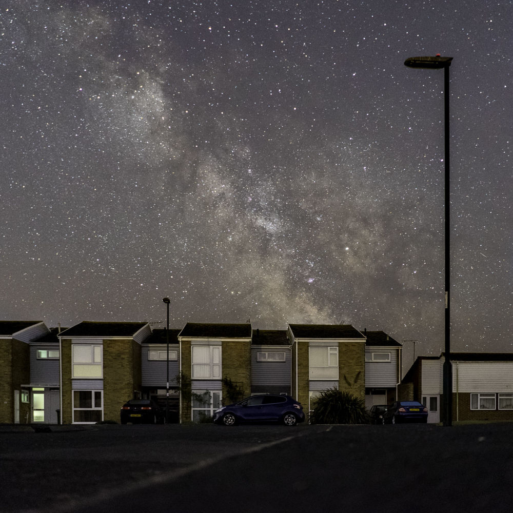 Работа Living Space фотографа Andrew White, занявшая второе место в категории People and Space конкурса Insight Investment Astronomy Photography of the Year 2018