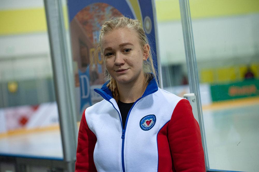 Тренер частной спортивной школы Дарья Фомина