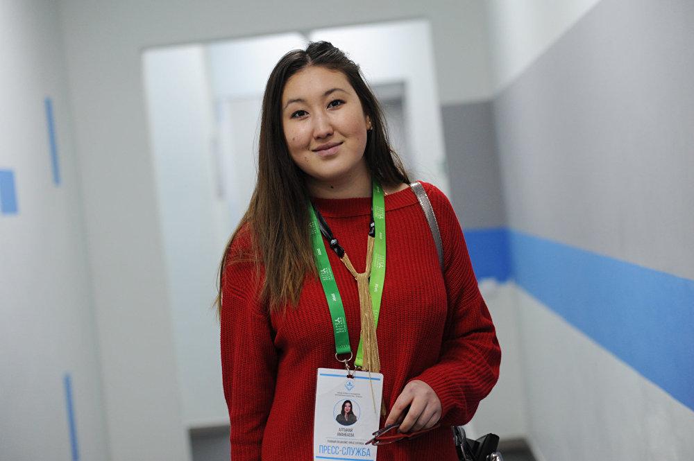 PR-менеджер Фонда Первого Президента РК Алтынай Аманбаева