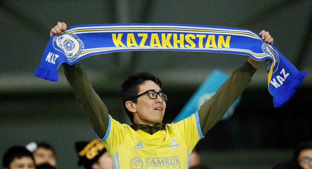 Казахстанский болельщик