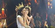 Победительница конкурса красоты Miss Grand International 2018 упала в обморок во время награждения