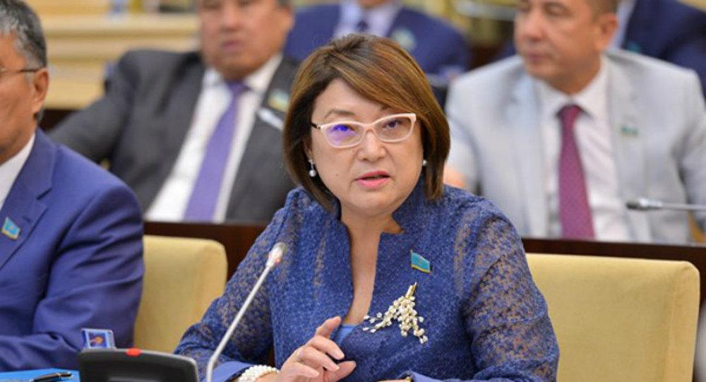 Парламент сенаты депутаты Бірғаным Әйтімова