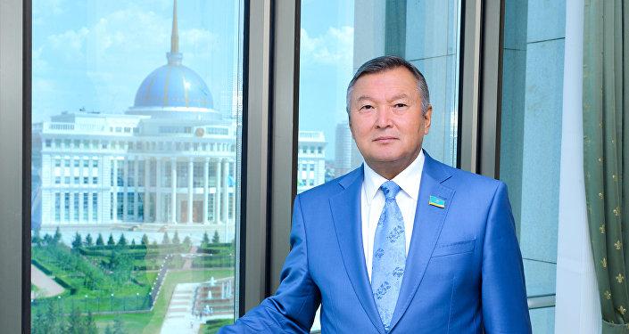 Депутат Сената парламента Казахстана Серик Акылбай