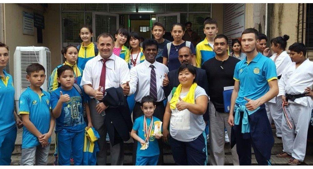 Астаналық каратэшілер Үндістанда сәтті өнер көрсетті