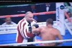 Расстроенный поражением грузинский боксер побил собственного тренера — видео 2018
