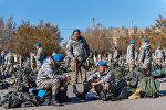 Отправка казахстанской миротворческой роты в Ливан