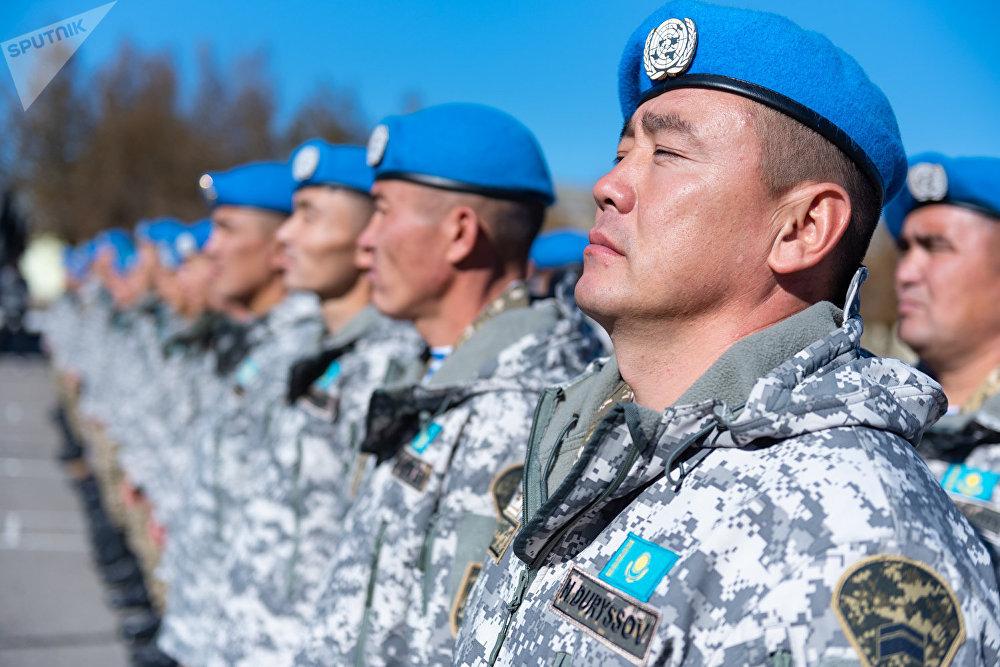 120 казахстанских военнослужащих приступят к выполнению миротворческой миссии в Ливане
