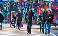 Пешеходы в Алматы