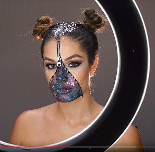 Макияж на Хэллоуин - видео
