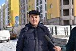 Жансултан Матаев - директор центрального филиала АО Жилстройсбербанк