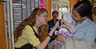 Волонтеры социального проекта Больничная клоунада