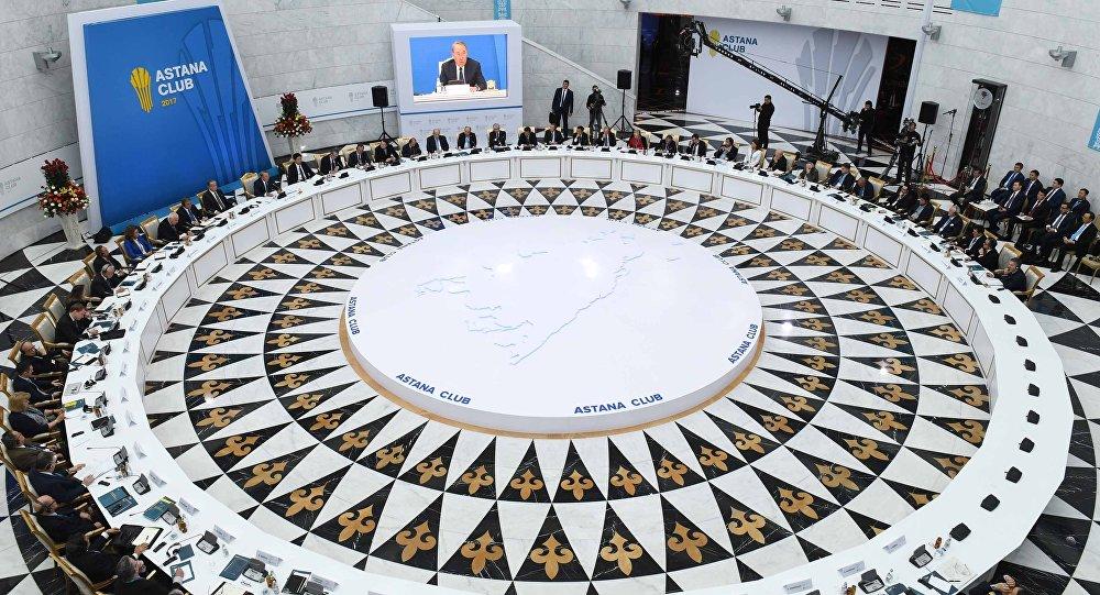 Заседание Astana Club, архивное фото