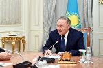 Встреча президента Казахстана с Алибеком Днишевым