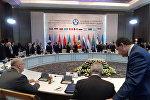 Заседание совета глав правительств СНГ в Астане