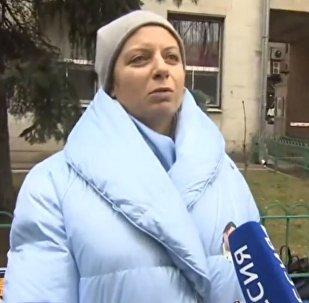 Митинг в поддержку задержанного российского журналиста Кирилла Вышинского