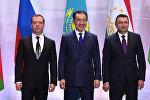 Дмитрий Медведев, Бакытжан Сагинтаев и Кохир Расулзада