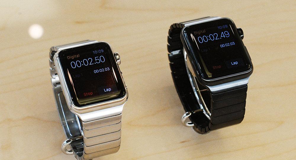 Архивное фото Apple Watch