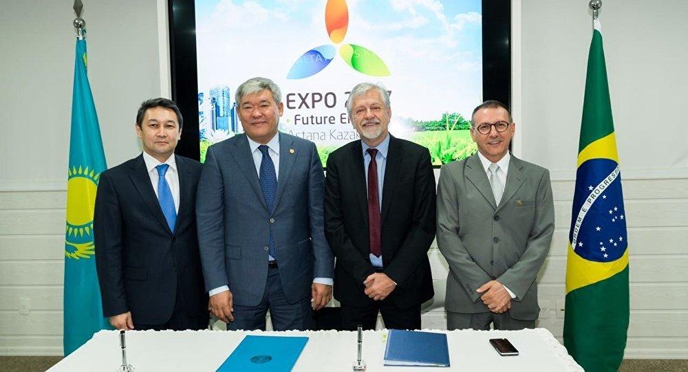 Бразилия подписала Договор об участии в ЭКСПО-2017