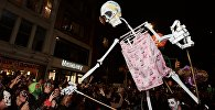 Хэллоуин, архивное фото