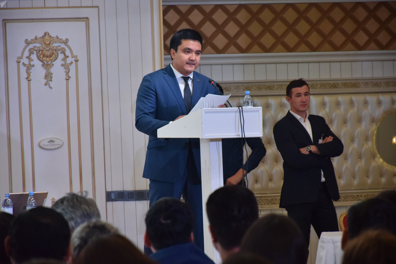 Руководитель управления туризма и внешних связей Алматы Максат Кикимов