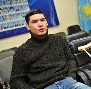 Параспортсмен-пловец Ержан Салимгереев