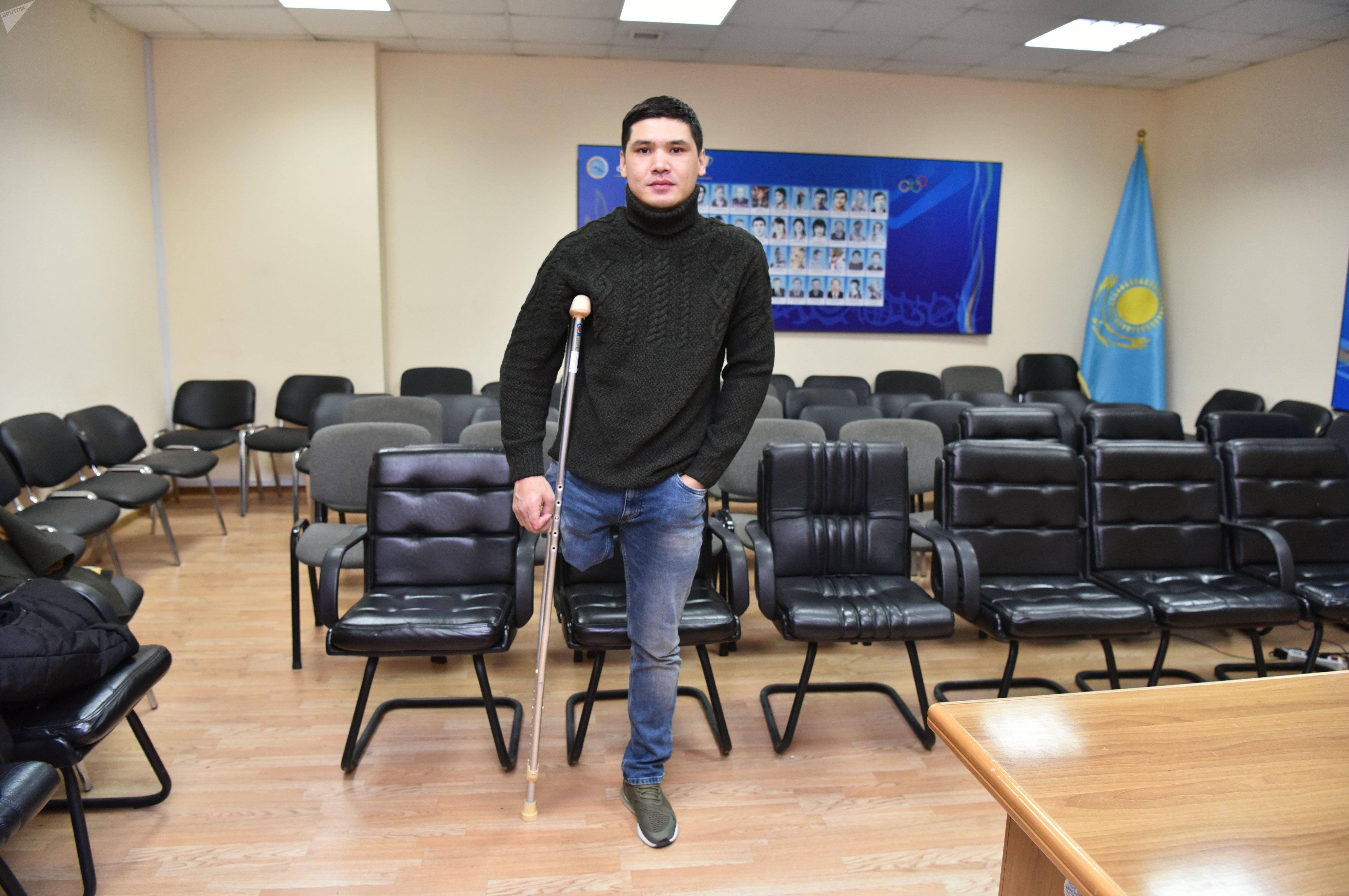Параспортшы-жүзуші Ержан Сәлімгереев