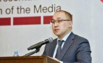 Министр информации и общественного развития Даурен Абаев, архивное фото