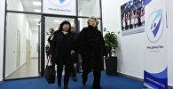 Известный российский тренер Татьяна Тарасова и мама Дениса Оксана Тен