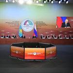 Рабочая поездка президента РФ В. Путина в Челябинск