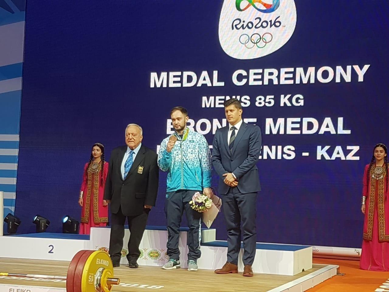 Денис Улановқа 2016 жылғы Олимпиаданың медалі табысталды