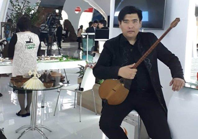 Представитель Актюбинской области на туристической выставке