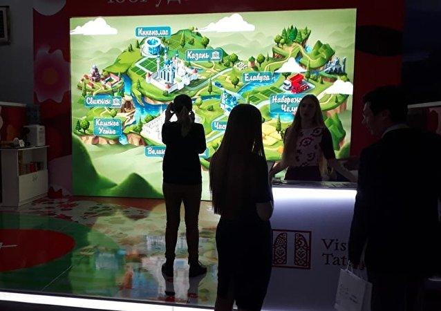 Очки виртуальной реальности позволяют увидеть достопримечательности Татарстана