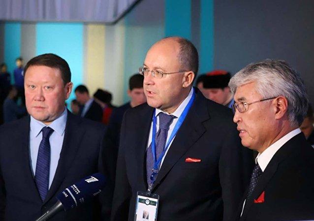 Торжественная церемония открытия туристской выставки Новые подходы и тенденции в развитии туризма Казахстана и России
