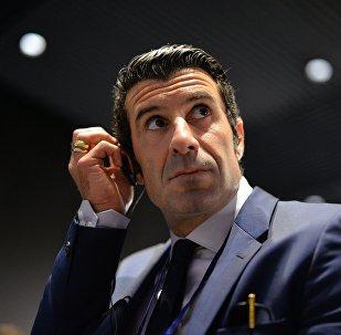 Португальский футболист Луиш Фигу
