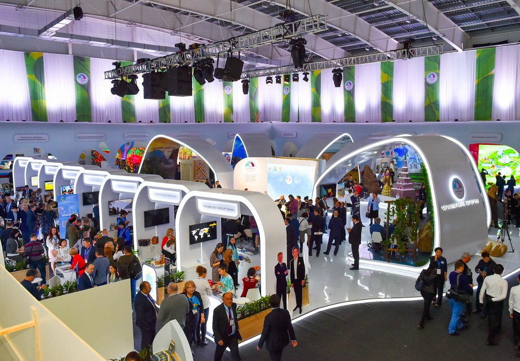 Туристическая выставка в рамках Форума межрегионального сотрудничества Казахстана и России